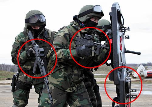 러시아 엘리트부대 '스페츠나츠'의 전용 무기 11가지