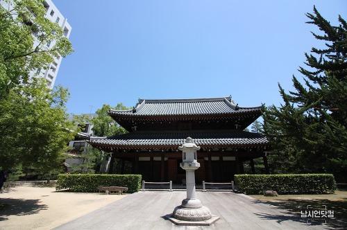 후쿠오카 하카타역 주변 도보여행 조텐지 절
