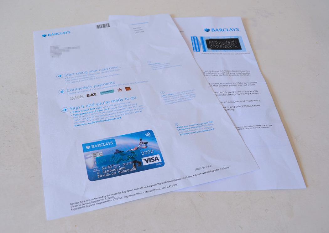 [영국워킹홀리데이] BARCLAYS 은행 계좌 개설 @ 인터뷰 후 카드 발급까지