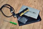 남는 노트북 하드 HDD, 멋진 하드 케이스로 재활용하는 방법