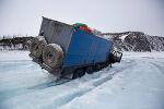 시베리아 북극 오지마을로 음식배달가는 기사님들의 모습