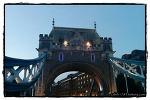 활짝 열린 런던 타워 브리지 - 런던 여행기 (London Tower Bridge, London)
