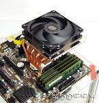 [포르까 리뷰]CoolerMaster GEMINⅡ S524 VER.2 포함 ㄷ 자형(Down Draft Style) CPU cooler 12종 비교 테스트