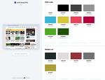 웹 개발자.디자이너를 위한 색상 팔레트 추출 프로그램, 사이트 팔레트(Site Palette)