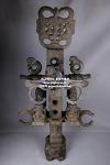 (2) 홍산문화 석 합체형 (남)  -여기저기 세월의 흔적들이 상당히 많이보임, 자석붙음 (합체높이 105cm, 합체무게 약 34kg)