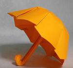 어려운 종이접기 우산