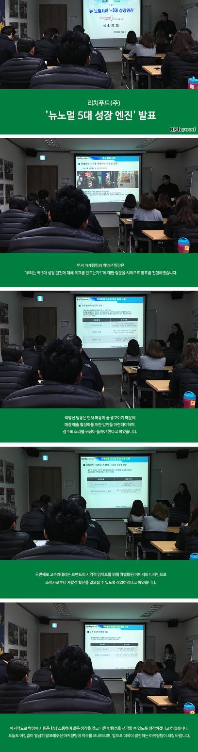마케팅팀 '뉴노멀 5대 성장엔진' 발표