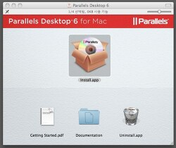 Parallels 6.0 설치