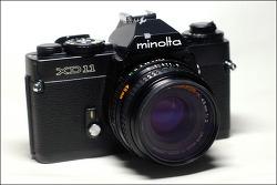 minolta XD11 + MD ROKKOR-X 45mm