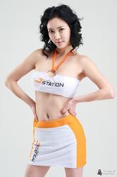 모델 민수아 한경닷컴 카카오걸 코랄 HQ