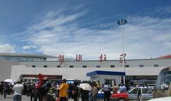 """티베트 하늘 관문, 라싸 """"공까르"""" 공항"""