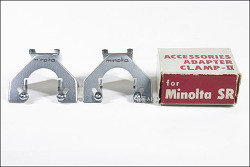 Minolta ACCESSORIES ADAPTER CLAMP-ll & V for Minolta SR