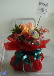 ▥ 따뜻한 마음을 전하는 크리스마스 선물용 꽃 만들기