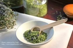 추위이겨낸 허브로~요리용 아로마 허브소금 만들기