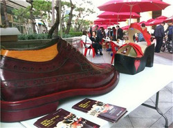 You can buy good handmade shoes near Seongsu station every months, starting April, 2013.