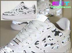 "Nike Air Force 1 Low Prm QS ""Digital Camo"" - IST Review | 나이키 에어 포스 1 로우 프리미엄 QS ""디지털 카모"" - 잇츠슈즈타임 리뷰"