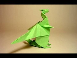 서양 용2 드래곤 종이접기 동영상입니다.