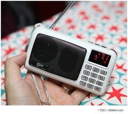 효도라디오 부모님이 사용하기 쉬운 라이트컴 YX116