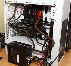 FSP HYPER M 600W 파워서플라이 벤치마크 성능