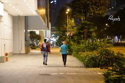 싱가포르의 화려한 밤문화 클락키