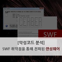 [악성코드 분석] SWF 취약점을 통해 전파된 랜섬웨어