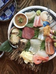 일산 백석 일식스시횟집 '이노루' 성게알비빔밥도 맛나고 모듬회 최고!