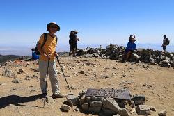 존뮤어트레일, JMT 1차 전지훈련으로 기록적 폭염속에서 LA 뒷산인 마운트볼디(Mt. Baldy)를 등산