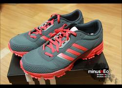 아디다스 마라톤 TR 10M 진회빨 구입(Adidas Marathon TR 10M DARONX/HIRERE/TEGRME : D66932)