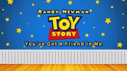 랜디 뉴먼 (Randy Newman) - You've Got A Friend In Me [Toy Story OST] MV
