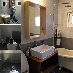 현관 다음으로 큰 프로젝트, 욕실 리모델링