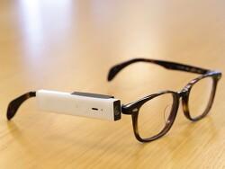 윙크하면 촬영되는 안경에 장착하는 Bincam BLINCAM 윙크 셔터 카메라