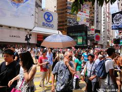 홍콩 만남의 장소 타임스퀘어; 홍콩의 구석구석(홍콩이케아가는법)