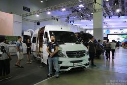 2016 부산국제모터쇼 벤츠스프린터의 다양한 변신! - 에스모터스 작품 의전차량 리무진, 미니버스