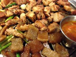 [껍데기] 장유 율하/마당쇠 껍데기와 소금구이