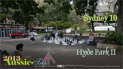 [D+13] Sydney 10 - In & Around HYDE PARK II