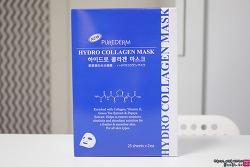 짐승용량 퓨어덤 하이드로 콜라겐 마스크팩 사용기