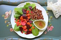 상추와 뿌리채소의 야합, 색채마술 샐러드 1,2,3