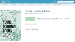 [책] Young Goodman Brown - Nathaniel Hawthorne