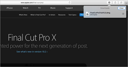 애플 스페셜 이벤트 앞두고 '파이널 컷 프로 X' 업데이트 정황 포착