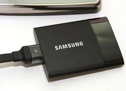 삼성 포터블 SSD 삼성 T1 빠른 속도 자세한 벤치마크 결과