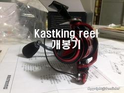갑오징어, 쭈꾸미 워킹용 릴(Kastking Orcas 2) 개봉기
