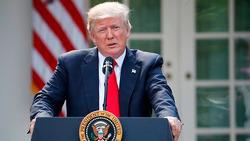 미국 트럼프, 파리 기후협정 탈퇴 공식 선언