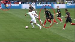 오심 세 번, 잉글랜드의 기회를 빼앗다