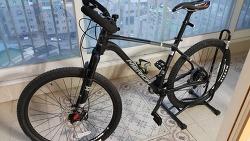 자전거를 바꿨다.