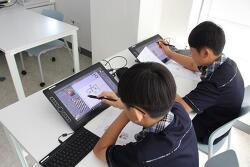 마포중앙도서관 청소년교육센터 웹툰창작교실 X 와콤 모바일스튜디오 프로