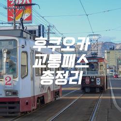 [후쿠오카여행] 후쿠오카 교통패스 총정리 A to Z