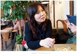 인사동 도도&전통찻집 에서 맛있게 먹은 가래떡구이...