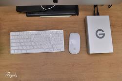 맥 사용자를 위한 외장하드 G테크놀러지 G드라이브