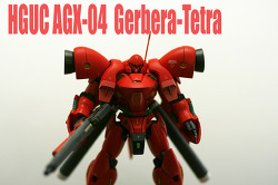 [HGUC] AGX-04 Gerbera-Tetra