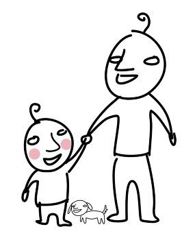 [모리의 그림일기]가족에 대하여
